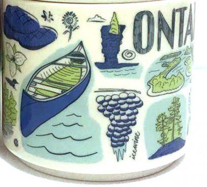 Starbucks Been There Ontario 2 mug