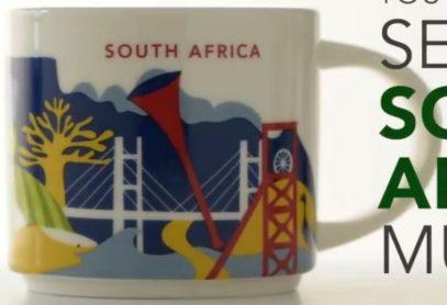 Starbucks You Are Here South Africa mug