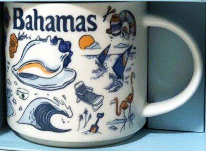 Starbucks Been There Bahamas mug