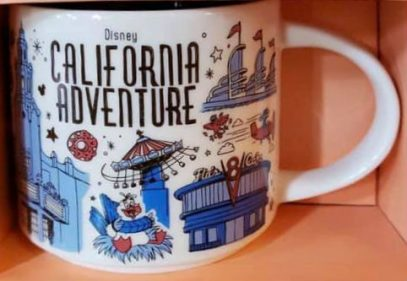 Starbucks Been There Disney California Adventure mug