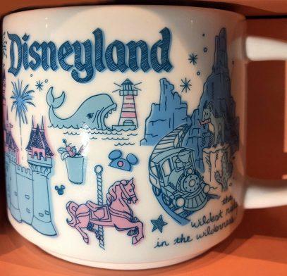 Starbucks Been There Disney Disneyland mug