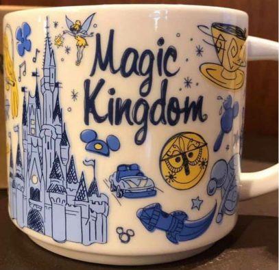 Starbucks Been There Disney Magic Kingdom mug