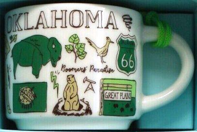 Starbucks Been There Ornament Oklahoma 2 mug