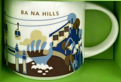 Starbucks You Are Here Ba Na Hills mug