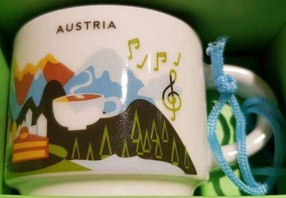 Starbucks You Are Here Ornament Austria mug