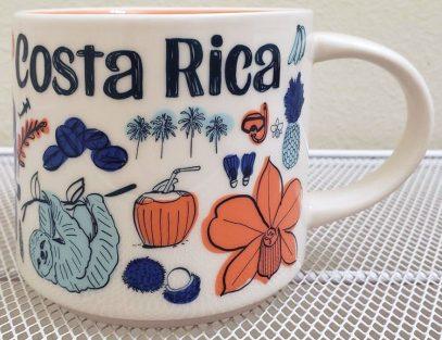 Starbucks Been There Costa Rica mug