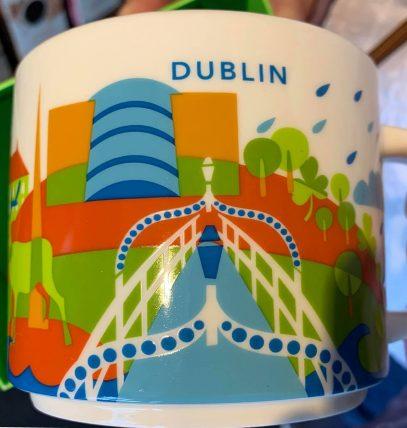 Starbucks You Are Here Dublin mug