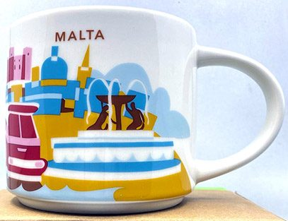 Starbucks You Are Here Malta mug