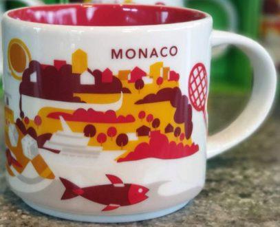 Starbucks You Are Here Monaco mug
