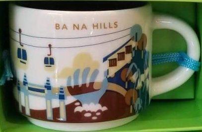 Starbucks You Are Here Ornament Ba Na Hills mug