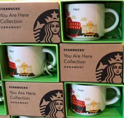 Starbucks You Are Here Ornament Italy mug