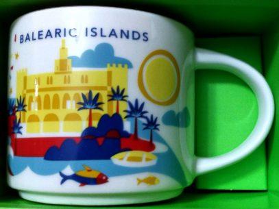 Starbucks You Are Here Balearic Islands mug
