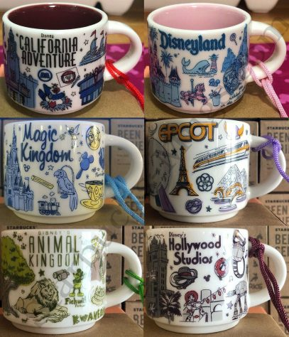 New Disney California Adventure 2020 Starbucks Yellow Tumbler Coffee Mug