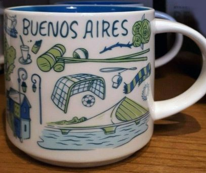 Starbucks Been There Buenos Aires mug