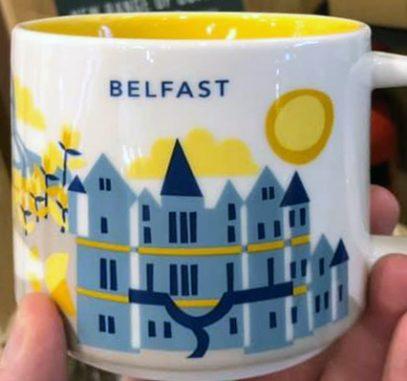 Starbucks You Are Here Belfast mug