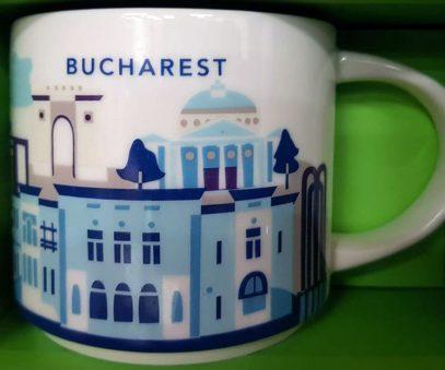 Starbucks You Are Here Bucharest mug