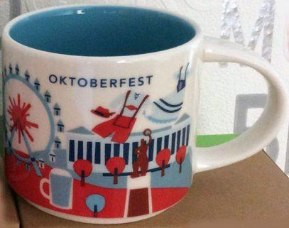 Starbucks You Are Here Oktoberfest mug