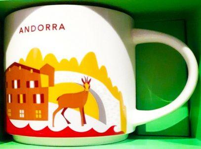 Starbucks You Are Here Andorra mug