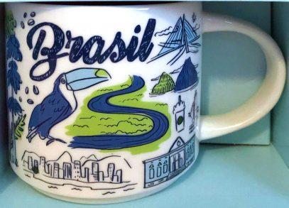 Starbucks Been There Brasil mug