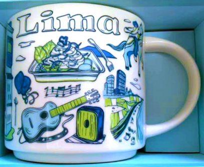 Starbucks Been There Lima mug