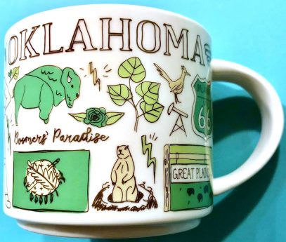 Starbucks Been There Oklahoma 2 mug