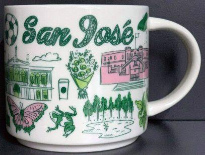 Starbucks Been There San José mug