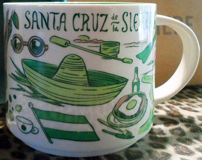 Starbucks Been There Santa Cruz de la Sierra mug