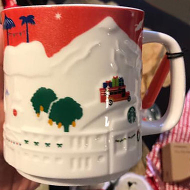 Starbucks 2018 Demitasse Mug Red Star 3 oz New