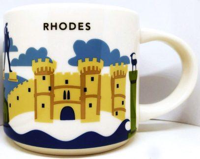 Starbucks You Are Here Rhodes mug