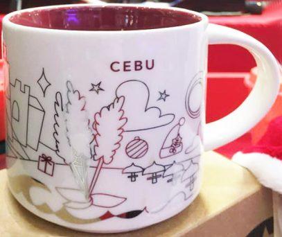 Starbucks You Are Here Christmas Cebu 3 mug