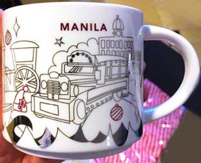 Starbucks You Are Here Christmas Manila 3 mug