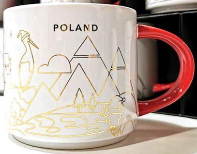 Starbucks You Are Here Christmas Poland mug