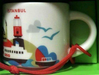 Starbucks You Are Here Ornament Istanbul mug