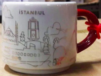 Starbucks You Are Here Ornament Christmas Istanbul mug