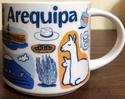 Starbucks Been There Arequipa mug
