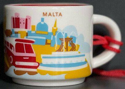 Starbucks You Are Here Ornament Malta mug