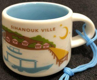 Starbucks You Are Here Ornament Sihanoukville mug