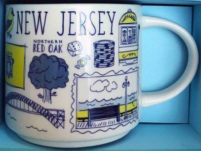 Starbucks Been There New Jersey 2 mug
