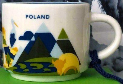 Starbucks You Are Here Ornament Poland mug