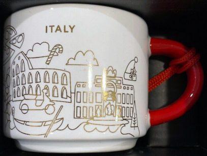 3 Ounce Size Starbucks 2018 Red Star Espresso Holiday Mug