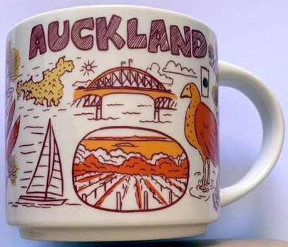Starbucks Been There Auckland mug