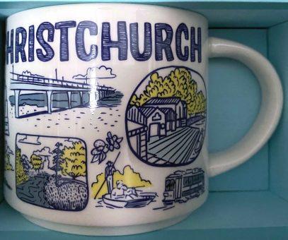 Starbucks Been There Christchurch mug