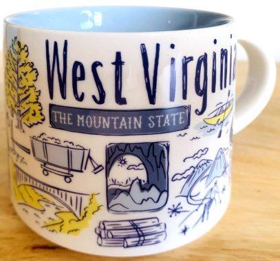 Starbucks Been There West Virginia 2 mug