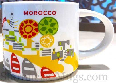 Starbucks You Are Here Morocco mug