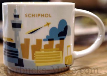 Starbucks You Are Here Schiphol mug