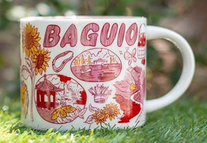 Starbucks Been There Baguio mug