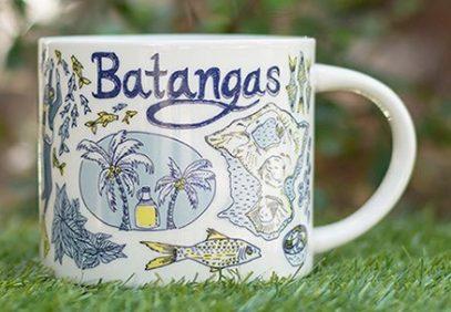 Starbucks Been There Batangas mug
