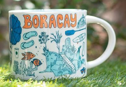 Starbucks Been There Boracay mug