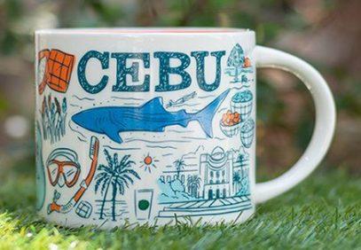 Starbucks Been There Cebu mug