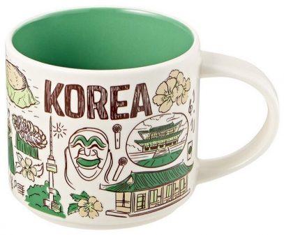 Starbucks Been There Korea mug